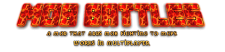 Mob Battles Native mod for Minecraft PE 0.11.1 / 0.11.0