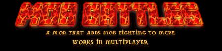 Mob Battles Native mod for Minecraft PE 0.11.1 / 0.11.0