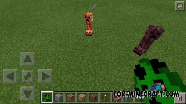 Minecraft Creeper Mod Mod For Minecraft pe 0.11