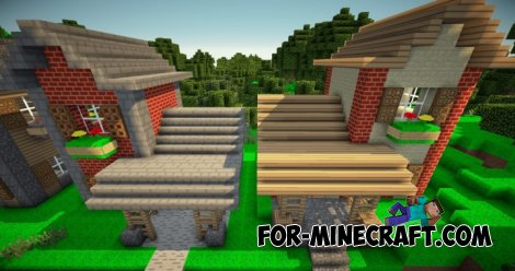 Cartoon Modern Texture [16x] for Minecraft 1.8.6