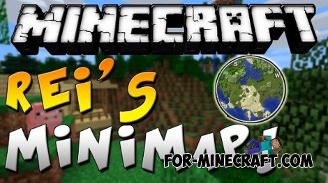 Rei's MiniMap mod for Minecraft PE 0.10.5 / 0.11.1 / 0.11.0 / 0.12.1