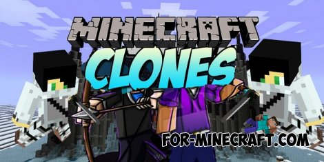 Clone Craft mod for Minecraft 1.7.10