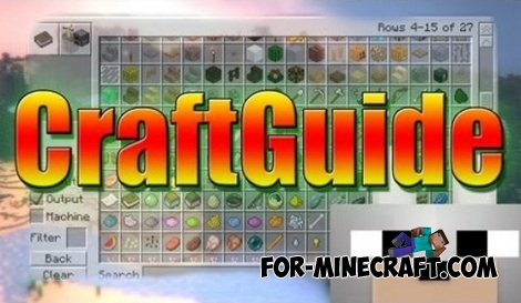 CraftGuide mod for Minecraft 1.7.10