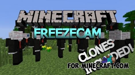 FreezeCam Mod for Minecraft 1.7.10 / 1.7.2
