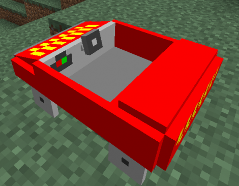 Cars and Drives Mod for Minecraft 1.7.10 / 1.7.2