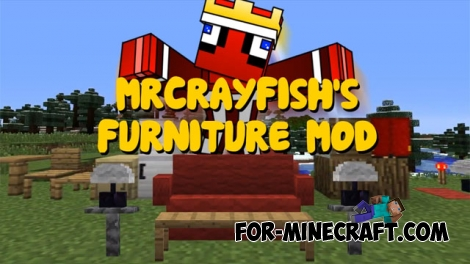 MrCrayfish's Furniture Mod for Minecraft 1.8
