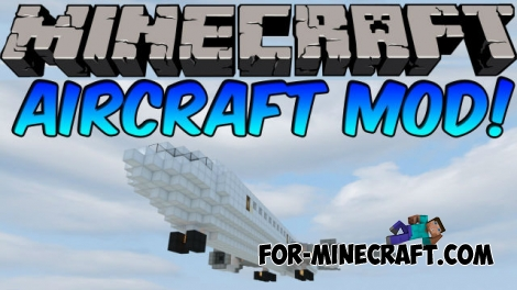 Aircraft (Zeppelin) Mod for Minecraft 1.7.10