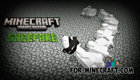 Sheepake mod for MCPE 0.11.0 / 0.11.1