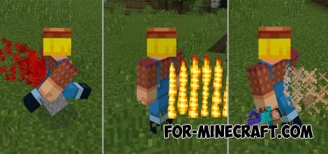 Trails mod for Minecraft PE 0.11.X/0.12.X