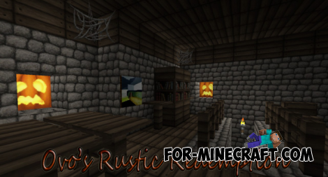 Ovo's Rustic Redemption Texture for MCPE 0.11.1