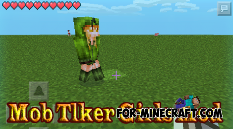 Mob Talker Girls Mod for MCPE 0.11.1