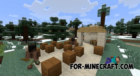 Millenaire mod for Minecraft 1.7.10