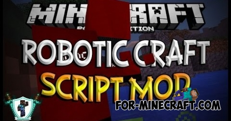 Robotic Craft mod for MCPE 0.11.1 / 0.11.0