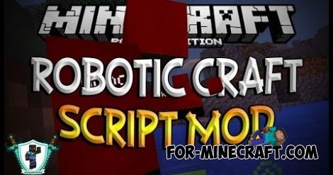 Robotic Craft mod for MCPE 0.11.1 / 0.11.0