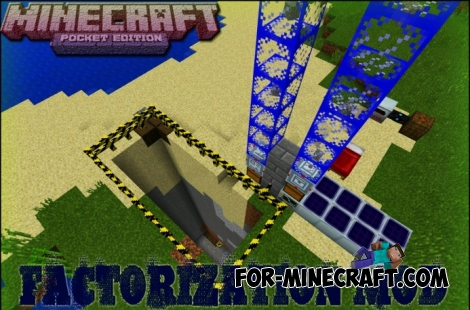 Factorization Mod 5.2 for Minecraft PE 0.11/0.12/0.13/0.14