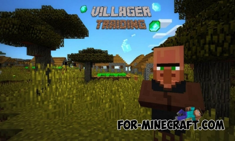 Villager Traiding mod for MCPE 0.11.1 / 0.11.0