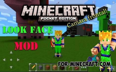 Look Face Mod / selfie mod for Minecraft PE 0.11.1 / 0.11.0