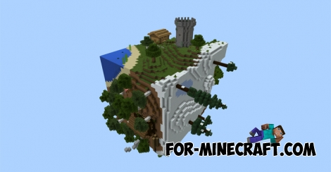 The Cube map for Minecraft Pocket Edition 0.11.X