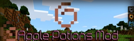 Apple Potion mod for Minecraft PE 0.11.1