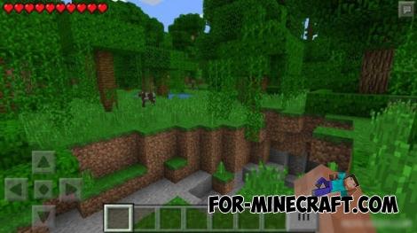 Morph Mod for Minecraft PE 0.14.0/0.15.7