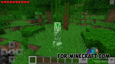 Morph Mod for Minecraft PE 0.14.0/0.15.7