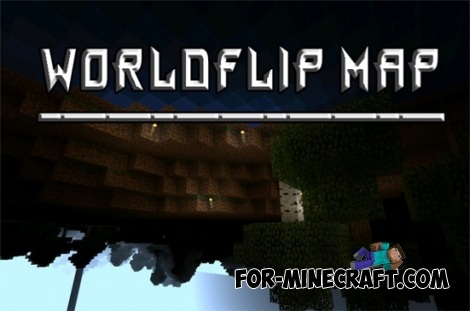 WorldFlip Map for Minecraft PE 0.11.X / 0.12.X