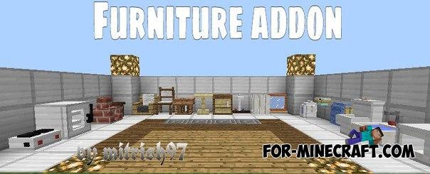 Mrcrayfishu0027s Furniture Mod V6 For Minecraft PE 0.11/0.13