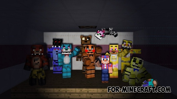 Fnaf 4 map for minecraft pe 0 11 1 0 11 0 187 for minecraft com