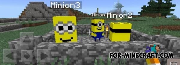 Скачать мод minecraft minions