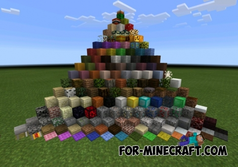 Minicraft texture [8x8] for Minecraft PE 0.11.1 / 0.11.0