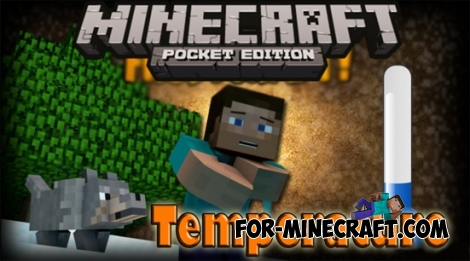 Temperature mod for Minecraft Pocket Edition 0.11.1 / 0.11.0