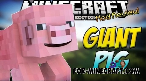 Pigorite mod for Minecraft PE 0.11.1