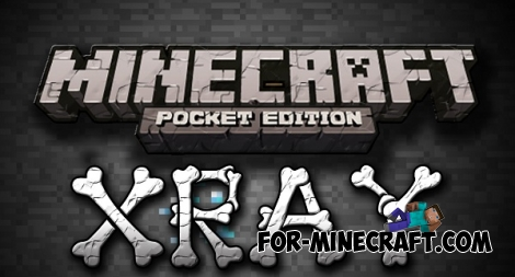 X-Ray HACK for Minecraft PE 0.11.1 / 0.11.0