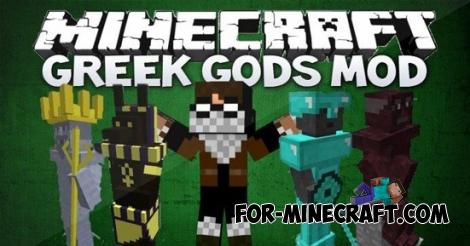 Greek Gods mod for Minecraft PE 0.11.1