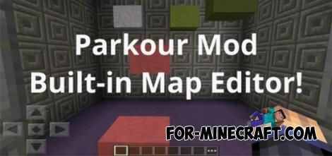 Parkour Mod (+map) for Minecraft PE 0.11.X