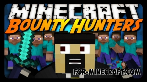 Bounty Hunter Mod Minecraft PE 0.11.1 / 0.11.0