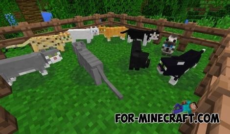 Ocelots Mod for Minecraft PE 0.11.1 / 0.11.0