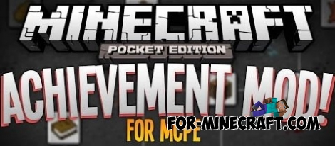 Achievements mod for Minecraft PE 0.11.X/0.13.0