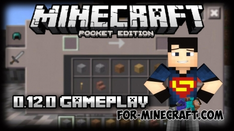 Minecraft PE 0.12.0 update