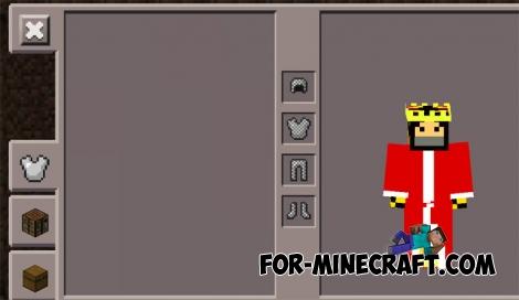 More Armor mod for Minecraft PE 0.11.1 / 0.11.0