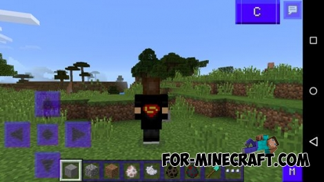 AgameR Capes Mod for Minecraft PE 0.11.1 / 0.11.0