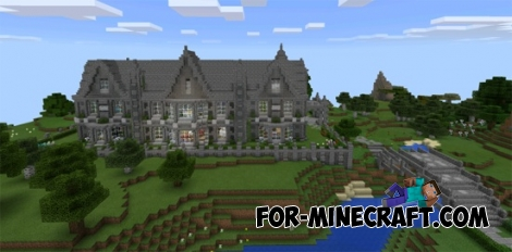 Victorian Manor map for Minecraft PE 0.11.1 / 0.11.0