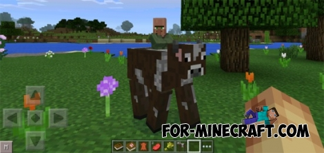 Craftable Mobs mod for Minecraft PE 0.11.1 / 0.11.0