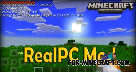 RealPC mod for Minecraft PE 0.11.1 / 0.11.0