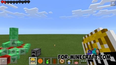 Junk Food Mod for Minecraft PE 0.11.1 / 0.11.0