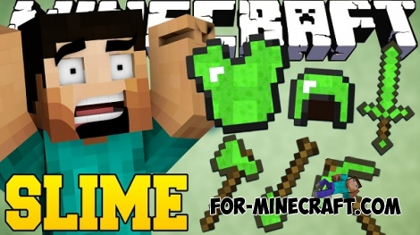 Slime Tools Mod for Minecraft PE 0.11.1
