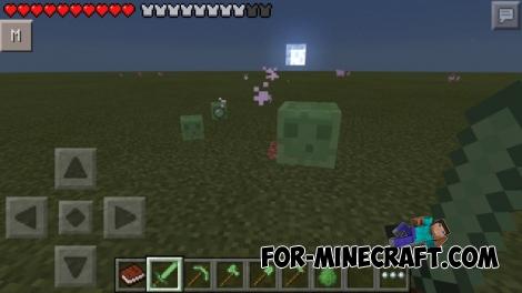 Slime Tools Mod for Minecraft PE 0.11.1