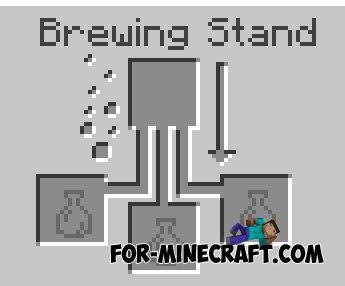 Brewing in Minecraft PE 0.12.0 / 0.12.1