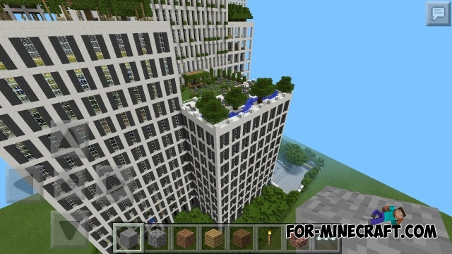 Super Hotel map for MCPE 0 12 1. Hotel map for MCPE 0 12 1