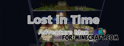 Lost in Time map for MCPE 0.12.X